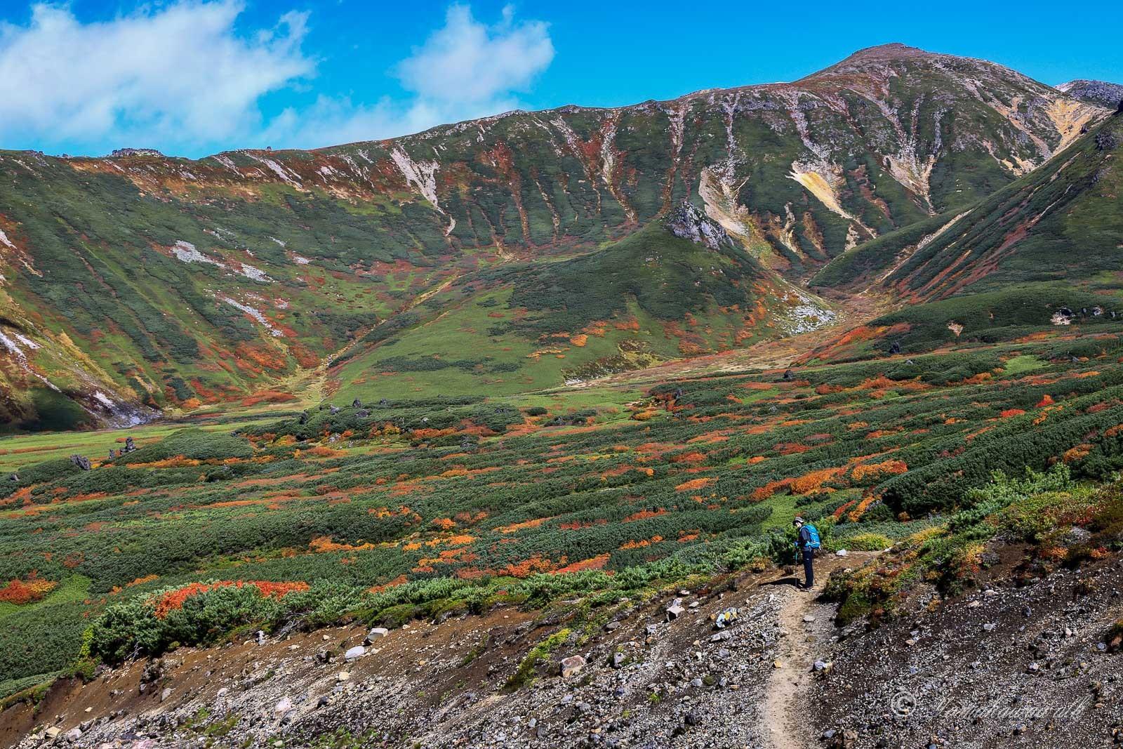 裾合平から中岳温泉まで歩いてきた_b0243727_20284869.jpg