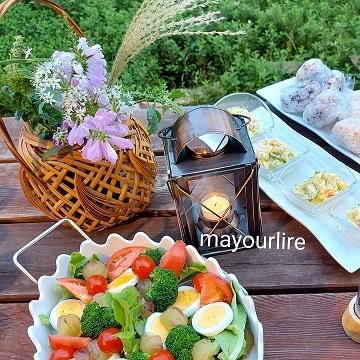 庭でバーベキュー♪_d0169179_00221384.jpg