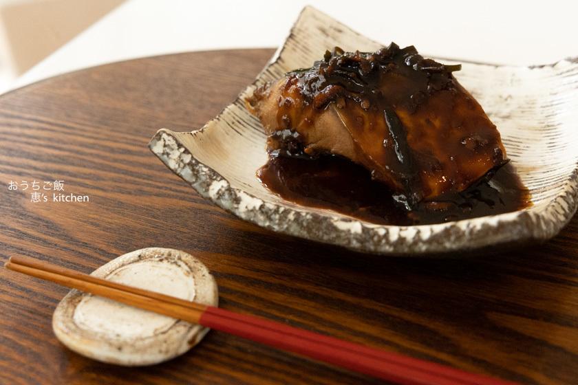 鯖の味噌煮_c0235725_07090953.jpg