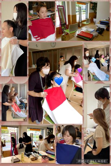 京都市で久しぶりのカラー診断イベント♪_d0116430_21140963.jpg