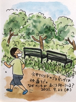 六甲アイランドのジョギング_f0072976_10272740.jpeg