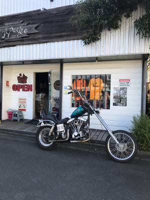 本日のバイク!_f0194657_18491857.jpg