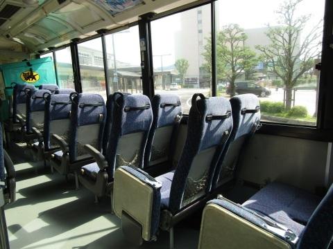久々の遠出で、こんなバスに乗りました。_f0281398_23424208.jpg