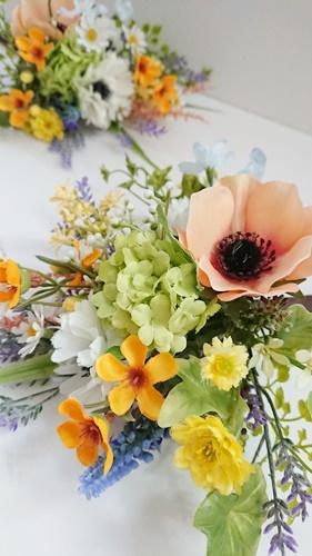 仏花ギフトと美味しいブルーベリーコンフィチュール_f0365636_13261280.jpg