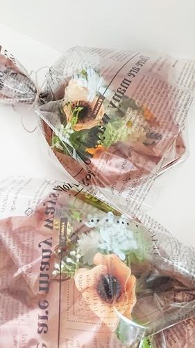 仏花ギフトと美味しいブルーベリーコンフィチュール_f0365636_13263510.jpg