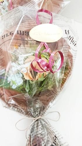 仏花ギフトと美味しいブルーベリーコンフィチュール_f0365636_13265572.jpg