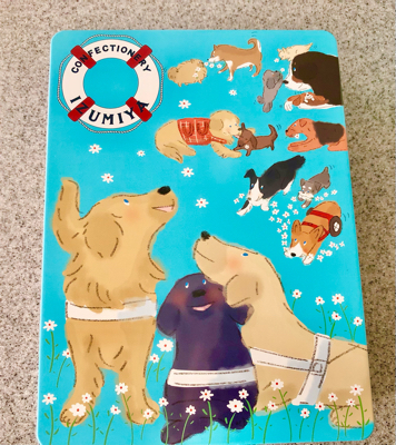 盲導犬サポートshopのクッキー缶_a0236996_21252793.jpg