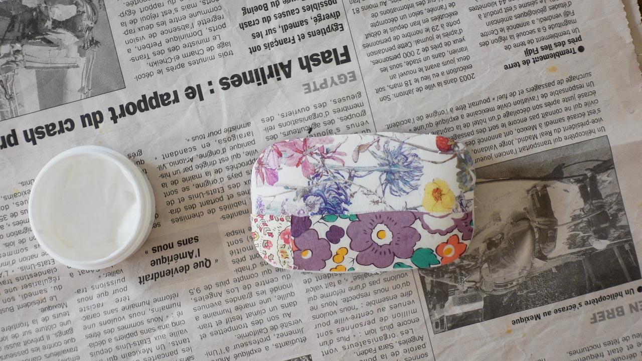 YouTube『マリメッコ柄』が可愛い♪布で作るデコパージュ石鹸の作り方_f0023333_22282085.jpg