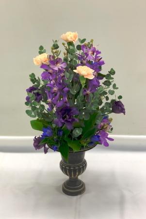 今月のNHK文化センター高等科の花は「スフィア」_f0185066_09501910.jpg