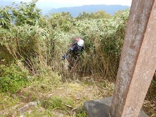 不動山想定沢登り…貝月谷_c0359615_08535675.jpg
