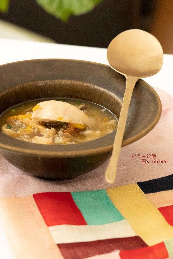 参鶏湯風薬膳スープ_c0235725_07544519.jpg