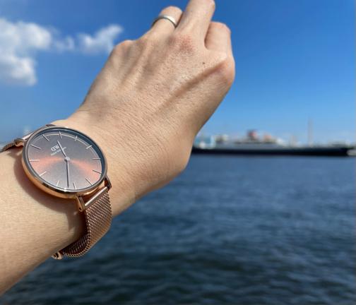 DWダニエルウェリントン秋の新作腕時計『アンバー』秋コーデに嬉しいカラーです♪_f0023333_21211326.jpg