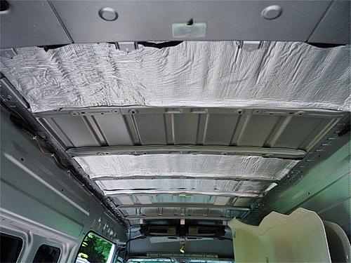 【NV350キャラバン】キャンピングカーへの道[4] サイドパネルと天井の断熱防音_a0282620_15423676.jpg