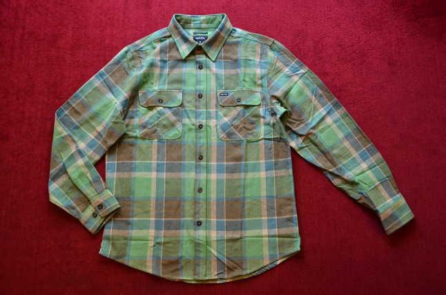 BRIXTONのネルシャツが良い!!_c0167336_18303994.jpg