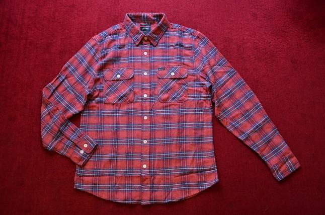 BRIXTONのネルシャツが良い!!_c0167336_18304022.jpg
