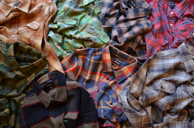 BRIXTONのネルシャツが良い!!_c0167336_18304079.jpg