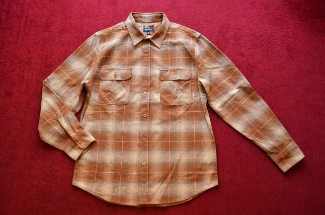 BRIXTONのネルシャツが良い!!_c0167336_18304223.jpg