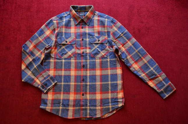 BRIXTONのネルシャツが良い!!_c0167336_18304299.jpg