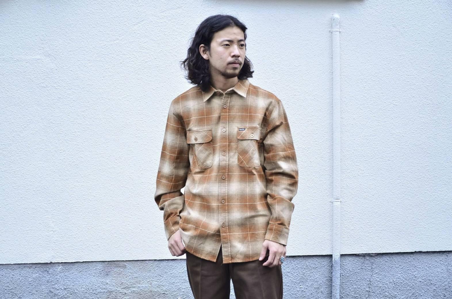 BRIXTONのネルシャツが良い!!_c0167336_22075286.jpg