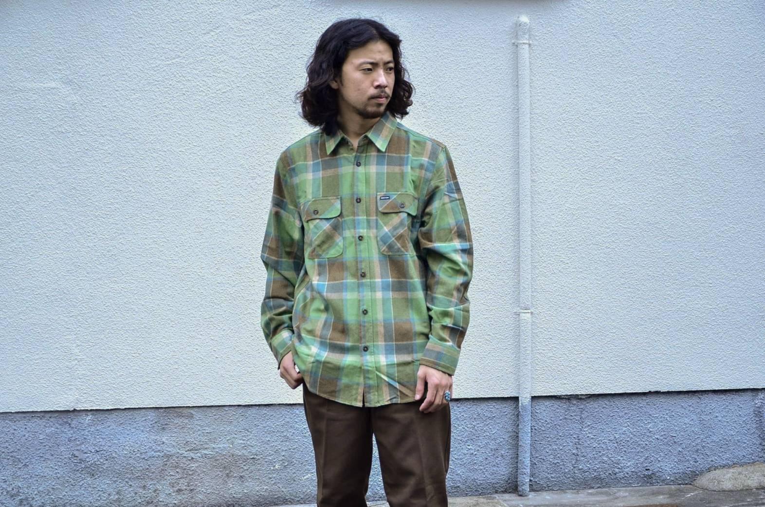 BRIXTONのネルシャツが良い!!_c0167336_22075343.jpg