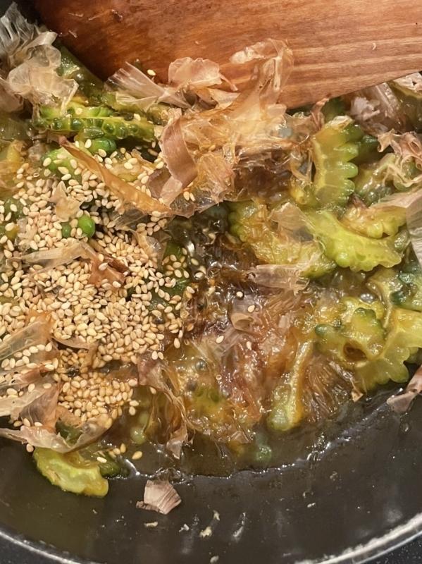 ゴーヤの佃煮(レシピあり)_c0235725_06293644.jpg