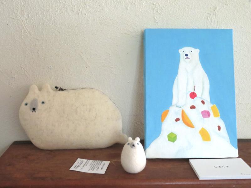 亀岡に犬と一緒に遊べるカフェができました〜BINSさんのお店のこととフェルトの雑貨_f0129557_16281766.jpg