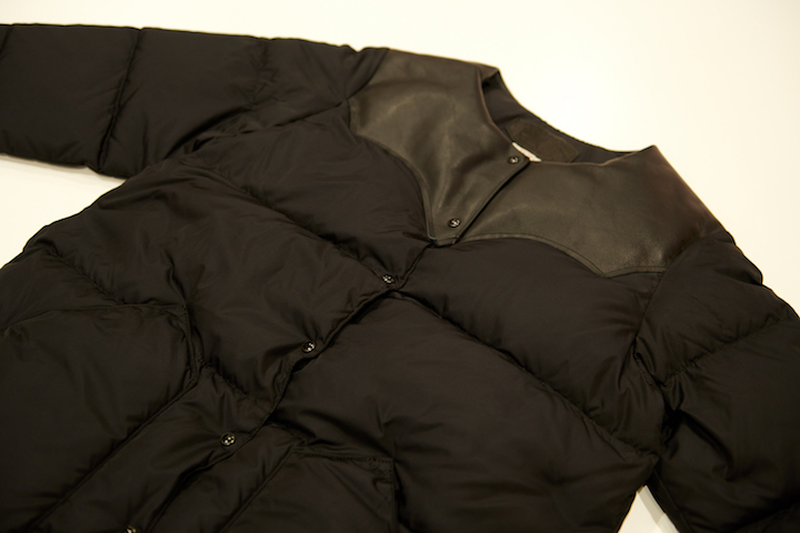 "\""RMFB WOMEN\'S NO COLLAR DOWN COAT BLACK #BlackVarsity\""ってこんなこと。_c0140560_20442745.jpg"