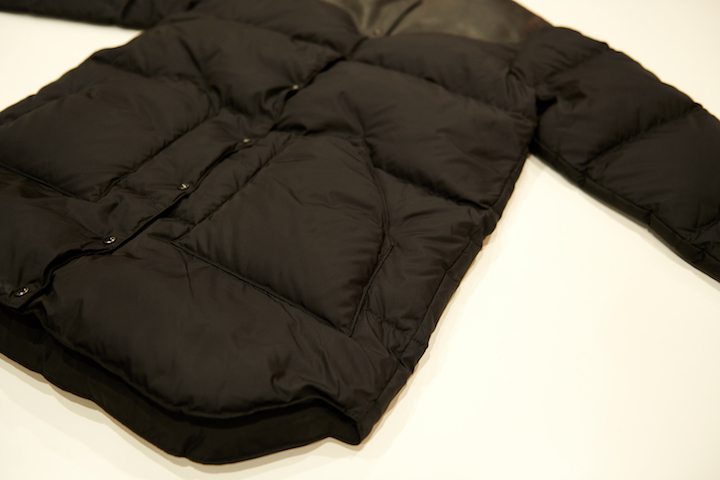 "\""RMFB WOMEN\'S NO COLLAR DOWN COAT BLACK #BlackVarsity\""ってこんなこと。_c0140560_20444278.jpg"