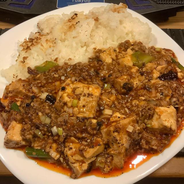 渾身の麻婆豆腐、上質の唐辛子は旨いが先に来る。_a0334793_02183525.jpg