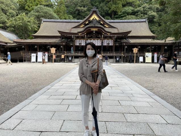 パワースポットの三輪明神とマリアージュMiyu_f0400900_21423915.jpg
