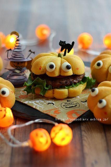 魔法をかけられたかぼちゃパン(*^^*)_a0134594_14035596.jpg