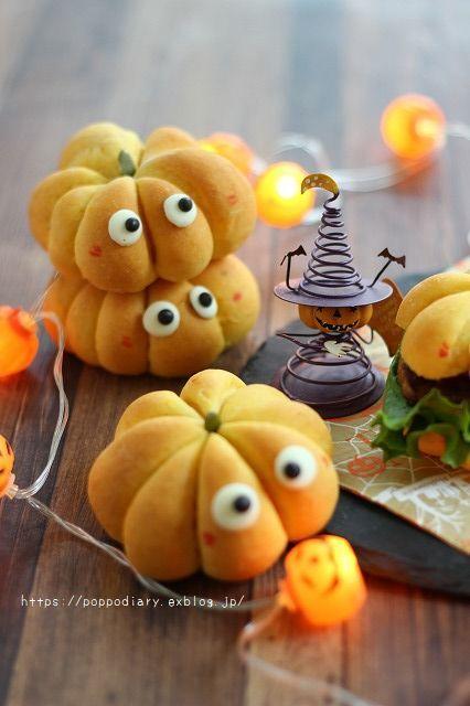 魔法をかけられたかぼちゃパン(*^^*)_a0134594_14052065.jpg