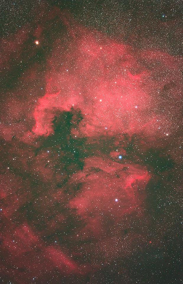 北アメリカ星雲とペリカン星雲_d0383419_22223178.jpg