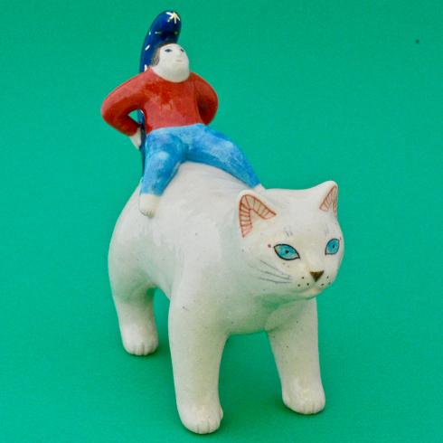【ヤマイチアツコ 陶猫展〜コロコロコローレ】_a0017350_23260374.jpg