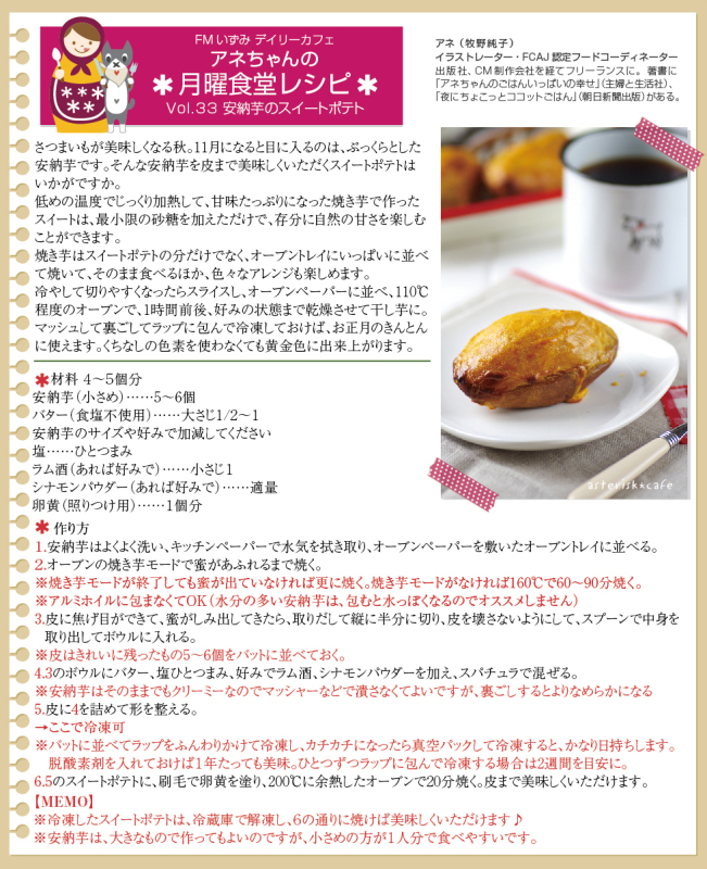 Daily Cafe(月)トピックライブラリー「アネちゃんの月曜食堂」_d0029276_20404307.jpg
