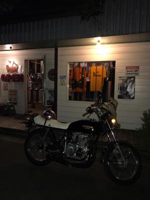 先日のバイク!_f0194657_18440515.jpg