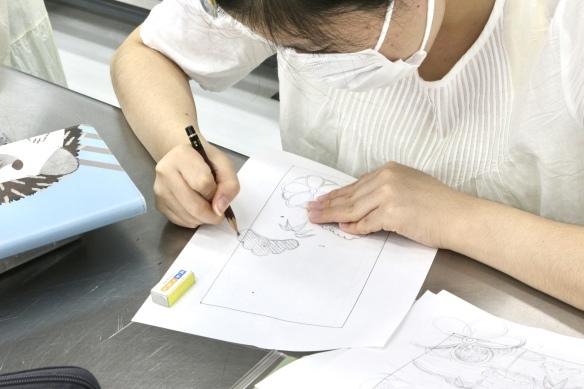 〈刺繍2年生 半衿〉_c0198292_11510044.jpg