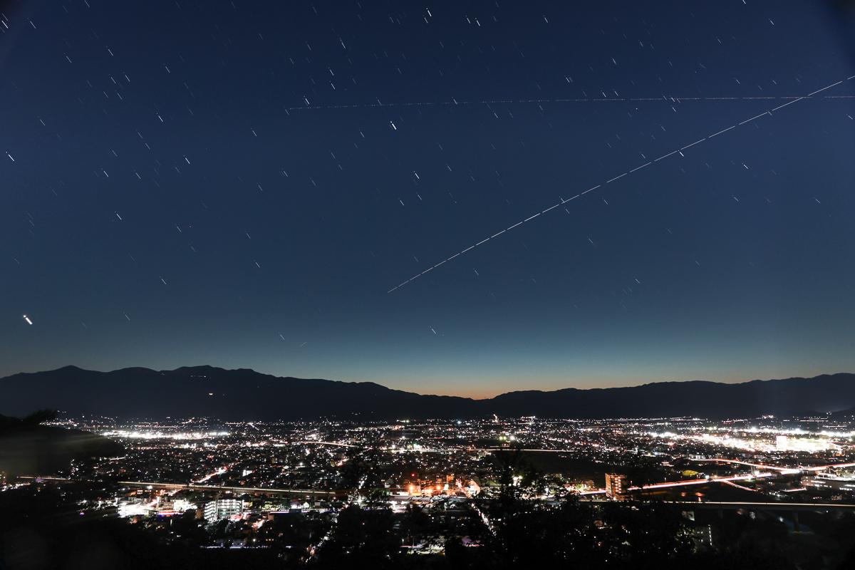 信夫山からISSを撮る_e0088874_17270667.jpg