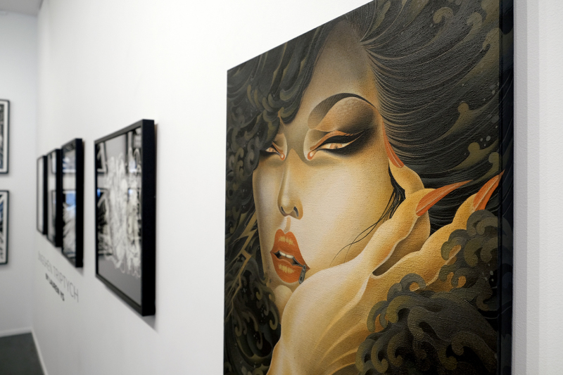 ""\""""Uneri"""" by ONEQ/ Outre gallery /Melbourne_b0126644_16540450.jpg""800|533|?|en|2|dab3f6450fea902e6b7d537be271f074|False|UNLIKELY|0.29755502939224243