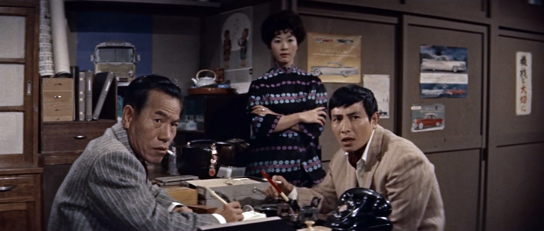 久保菜穂子(Naoko Kubo)「多羅尾伴内 七つの顔の男だぜ」(1960)其の壱_e0042361_19034120.jpg