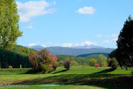 冠雪の大雪連峰~10月の東川_d0340565_20233715.jpg
