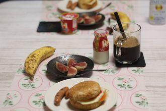9/28-10/10 日々のごはん&食パン、レモンチョコ、お芋パン、ピザ_f0196800_21120029.jpg