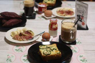 9/28-10/10 日々のごはん&食パン、レモンチョコ、お芋パン、ピザ_f0196800_21120564.jpg