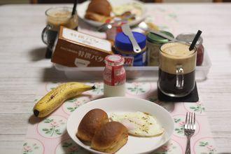 9/28-10/10 日々のごはん&食パン、レモンチョコ、お芋パン、ピザ_f0196800_21144603.jpg
