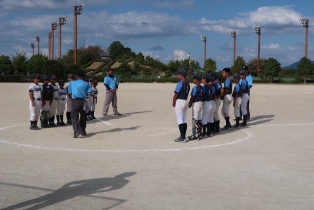 第20回 富田林ロータリー旗争奪少年野球大会  第12日目 10月10日_c0309012_14525186.jpeg