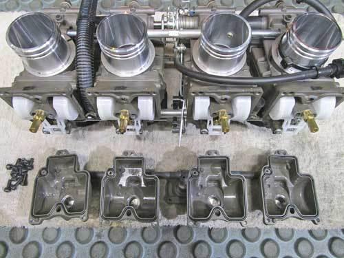 K條クン号 GPZ900RニンジャにFCR37φキャブレターを装着&セッティングが完了・・・(^^♪ (Part4)_f0174721_01313381.jpg