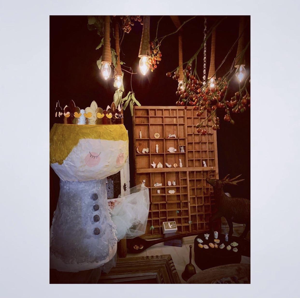 『小さい秋みつけた フランスのフェーブ展』@川越 ヒヤシンス雑貨店_a0137727_15385640.jpeg