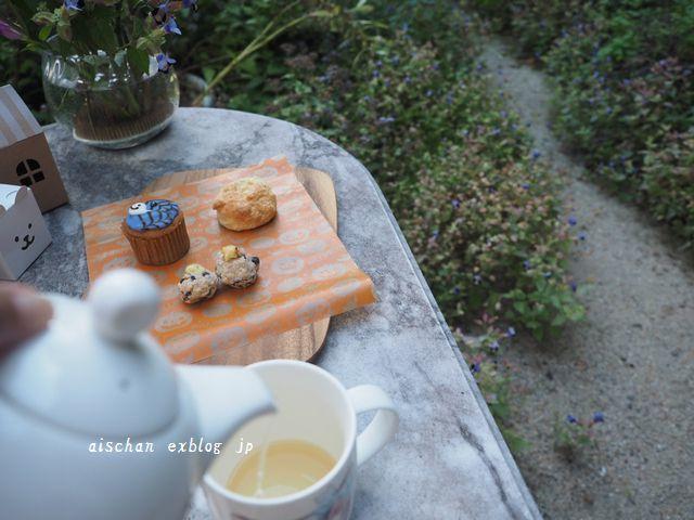 我が家の松茸ご飯とブロ友さんからの嬉しいスイ―ツ♪_e0406439_10533715.jpg