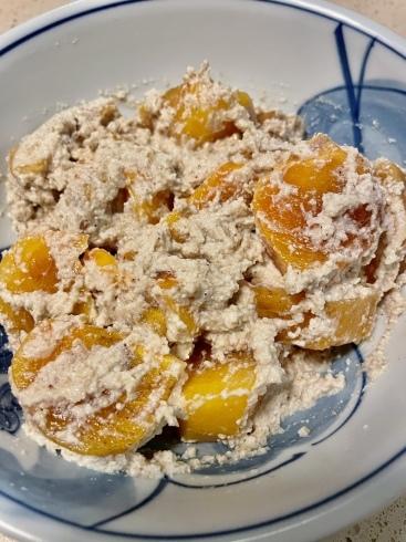 ポークチョップと季節の果物でおつまみ_f0012916_17565585.jpeg