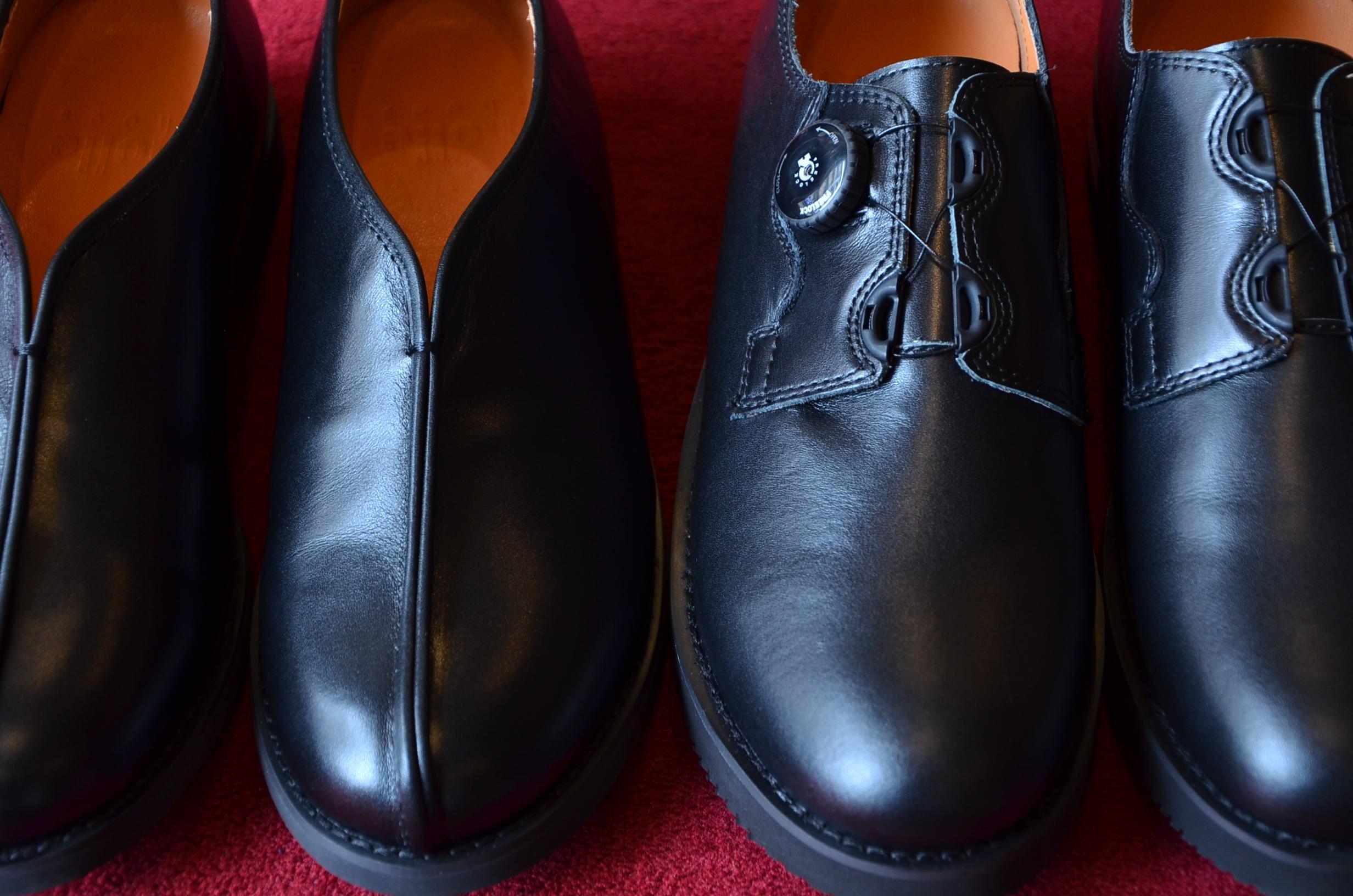シーンを選ばずいつでも履ける、革靴です。_c0167336_19444327.jpg